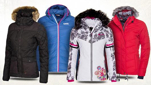 Využijte atraktivních slev na dámské zimní bundy