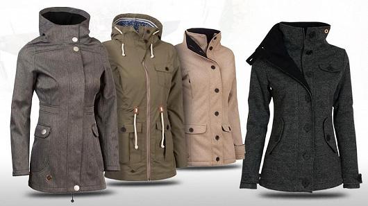 Dámský softshellový kabát pro přechodné období