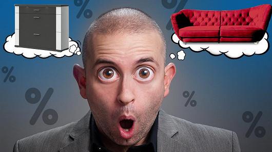 Slevy 46 % způsobily poprask. Jsou totiž na veškerý nábytek bez výjimky!