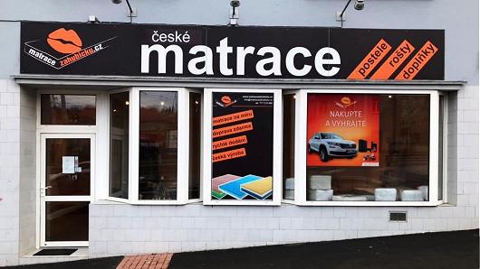 Chcete si matrace nejprve vyzkoušet? Zastavte se ještě dnes na našich prodejnách v Praze a Plzni