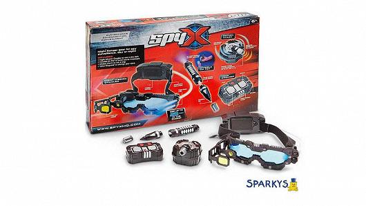 SpyX velká špiónská hra s brýlemi pro noční vidění!