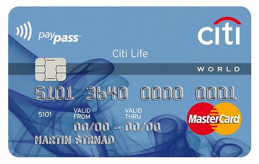 Citi Life kreditní karta – cestujte a užívejte si
