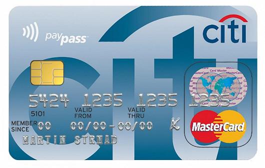 Citi Classic kreditní karta – karta pro celou rodinu