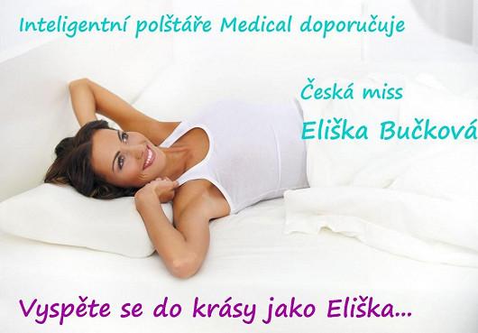 POLŠTÁŘ ANATOMIC 500 Z INTELIGENTNÍ PĚNY MEDICAL