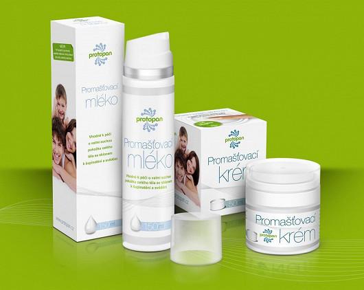 Protopan® Promašťovací krém a Promašťovací mléko