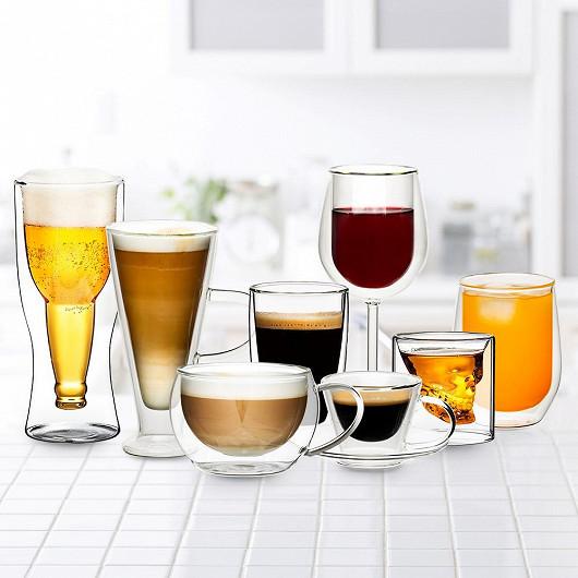 Stylové sklenice se slevou až 56 %