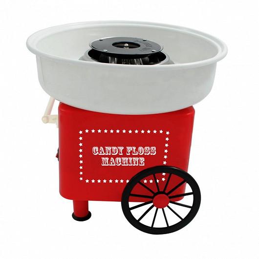 Retro výrobník cukrové vaty. Připravte si sladkou pochoutku a vzpomínejte na staré časy!