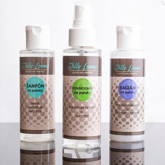 4. Sada kosmetiky pečující o umělé vlákno