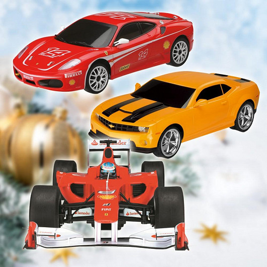 RC modely Camaro a Ferrari za neuvěřitelných 499 Kč. Původní cena 1199 Kč
