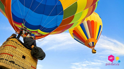 Vzhůru do oblak v balónu – vánoční cena