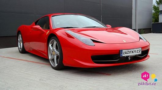Jízda ve Ferrari za 7 miliónů – vánoční akce