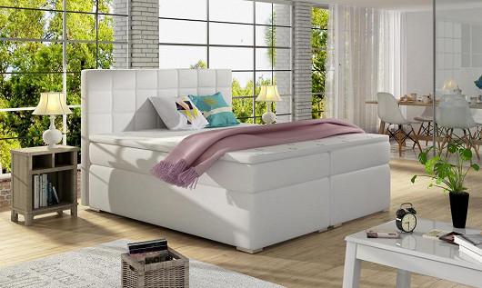 Moderní box spring postel Alves 180x200 cm se slevou 40 %