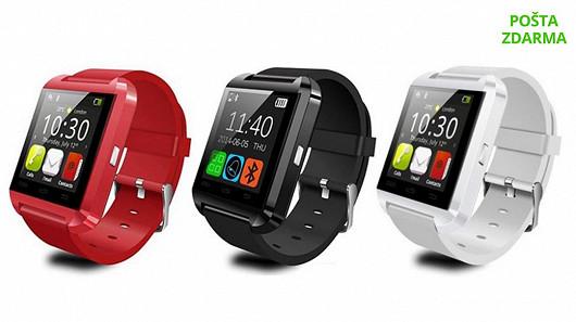 Chytré hodinky U Watch U8 pro Android a IOS za 390 Kč!