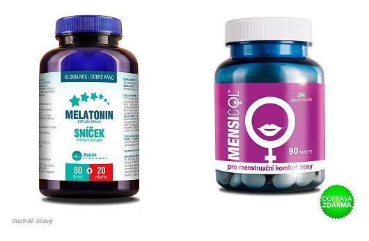 Řešení nespavosti = melatonin!