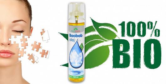 Využijte exkluzivní možnost vyzkoušet účinky zcela nového přípravku Baobab Olej Max 100ml. Bio Baobab Olej Max můžete díky super.cz získat za speciální zaváděcí cenu 349 Kč.