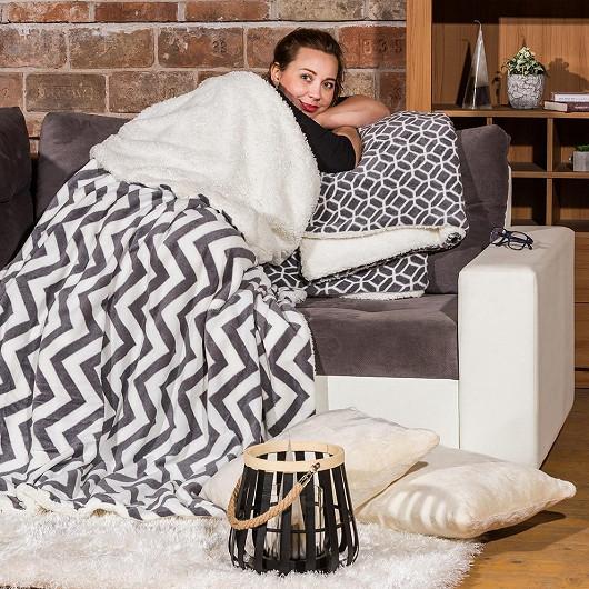 Beránková deka se slevou 56 %