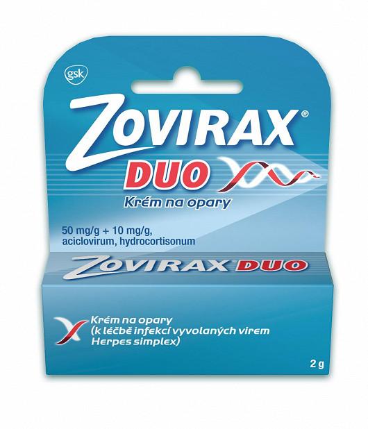 Zovirax Duo krém 50mg/g + 10mg/krém