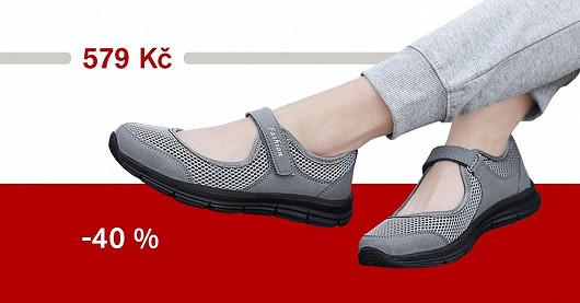 Dámské prodyšné sandálky Scalia – SLEVA 40 %
