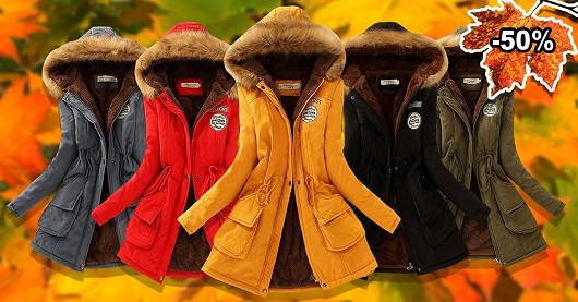 Moderní kabát Rosabel za akčních 750 Kč, sleva -50 %!