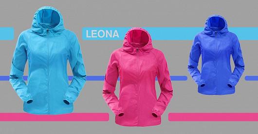 Dámská outdoorová bunda Leona – SLEVA 50 %
