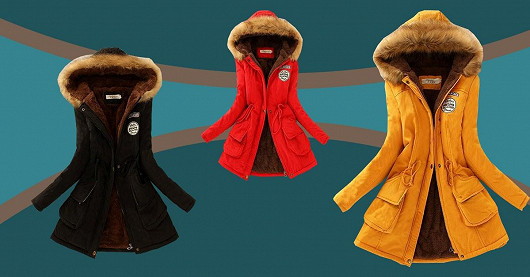 Zimní kabát Rosabel – SLEVA 50%