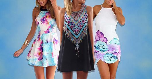 Obrovský výběr šatů s cenami od 159 Kč! Slevy až -80 % a doprava zdarma!