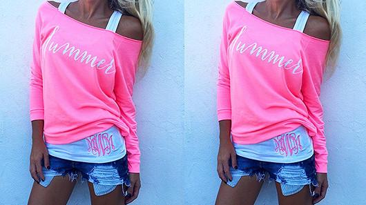 Luxusní tričko Summer od NIGHTDRESS.CZ jen za 299 Kč