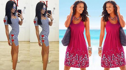 f5666867967 Letní šaty a plavky za super ceny. Slevy až 70 % a doprava zdarma na ...