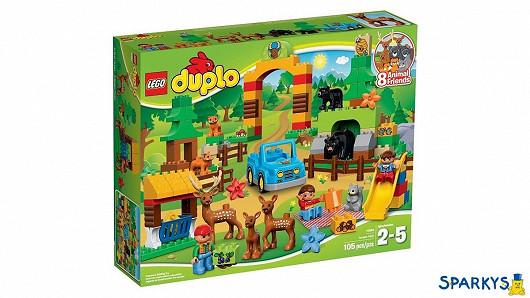 LEGO DUPLO 10584 Lesopark + doprava zdarma