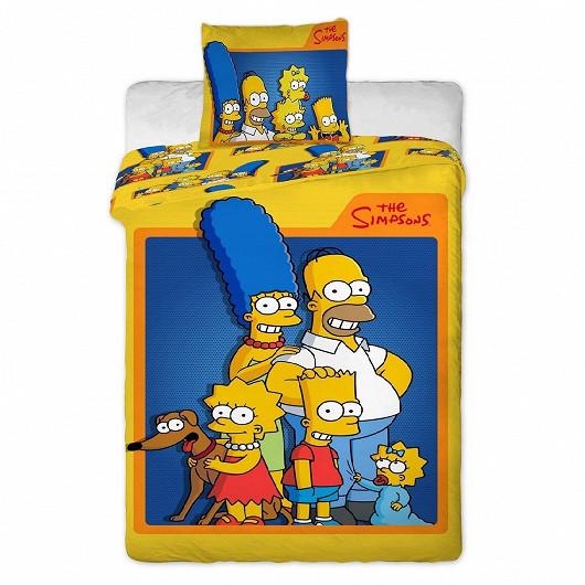 Bavlněné povlečení The Simpsons