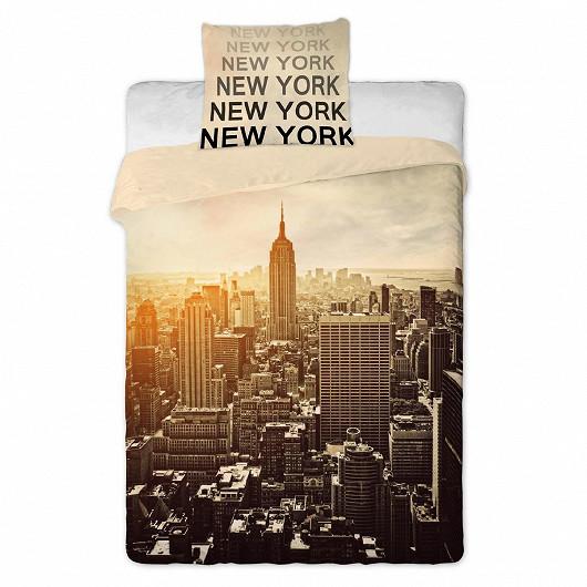 Bavlněné povlečení New York