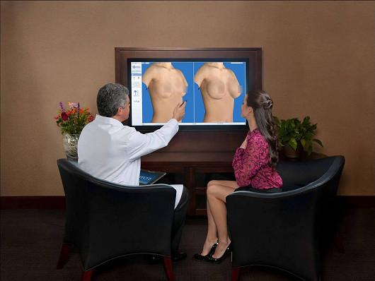 Svá nová prsa uvidíte ve 3D již při konzultaci