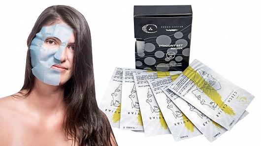 Chytrá kaviárová nano maska