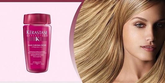 Máte suché barvené nebo zesvětlované vlasy?