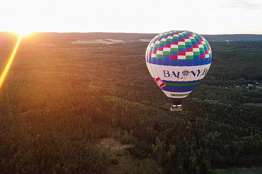 Let horkovzdušným balónem nad krásnou krajinou – pro kliďasy, kteří nemají rádi adrenalin – už od 3479 Kč