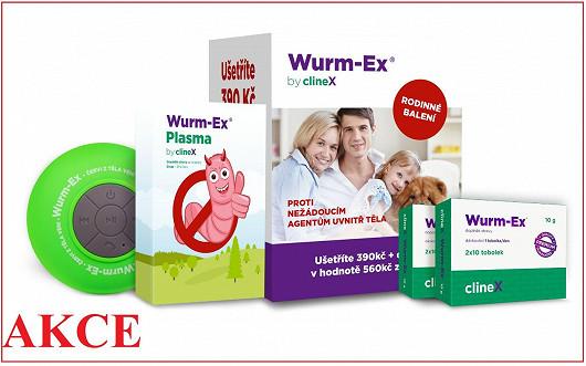 Aktuálně extra výhodné rodinné balení Wurm-Ex®