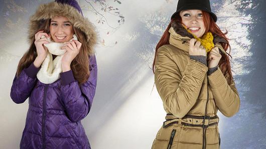 Dámské zimní bundy, které zahřejí i cenou