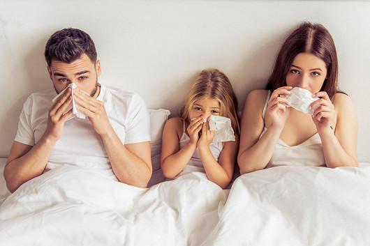 Pomoc při nachlazení pro celou rodinu