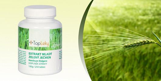 Získejte ztracenou vitalitu a novou vlnu energie se zeleným ječmenem
