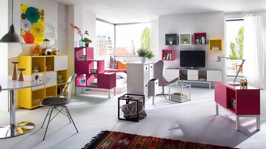 Nový nábytek do každého pokoje za pár korun nakoupíte jen do středy!