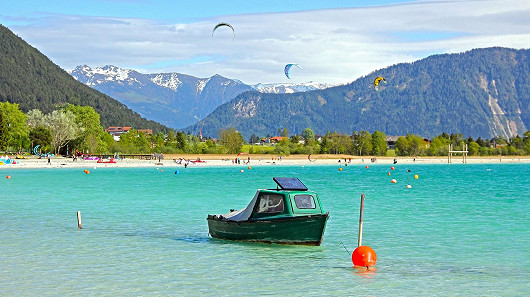 Achensee – fjord uprostřed rakouských Alp