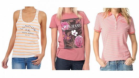 Topy, trička a pola nejznámějších značek za suprové ceny!