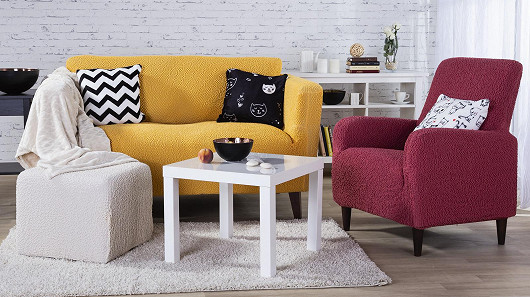 Barevný podzim v obývacím pokoji