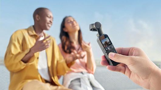 3. DJI Pocket 2: kamera se stabilizátorem, se kterým natočíte vše