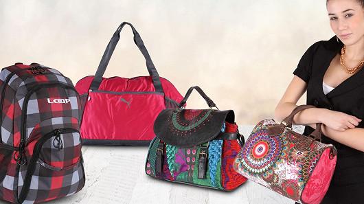 Kabelky, tašky, batohy