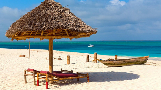 Zanzibar – nekonečně mnoho odstínů modré