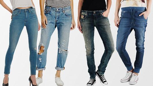 Dámské džíny pro každou postavu