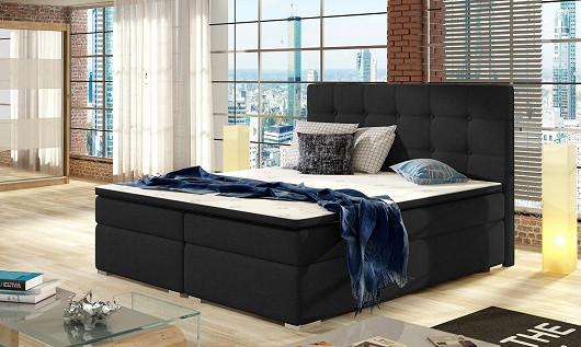 Krásná boxspring postel v rozměru 180x200cm za 9 999 Kč!