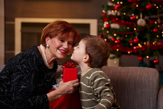Vánoční dárek pro babičku