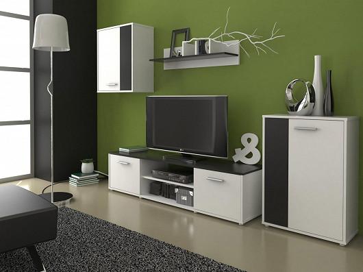 Hledáte moderní praktickou obývací stěnu za příjemnou cenu? Už nemusíte!